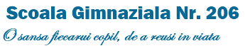 Scoala 206 Logo